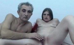 Teen student naked with her teacher