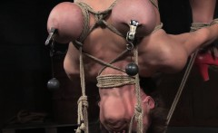 Tied Up Submissive Getting Tt Treatment