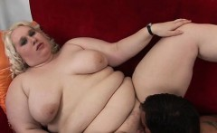 fat girl seduces pretty chap to gangbang her very well
