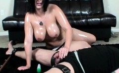 Mistress Jayden gives her slave the treatment