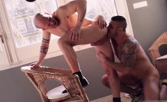 Latin gay anal sex and creampie