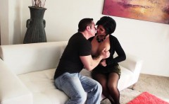 Bigtitted stepmom doggystyled in stockings