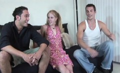 horny johnny and matt are eager to plow blonde skinny slut