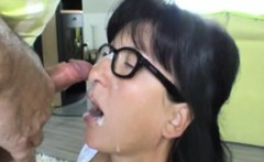 Fucking Cum and Granny on Her Experience