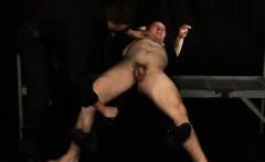 Muscle gay rough sex with facial