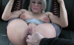 Luscious lady drilled by nasty driver for a free fare