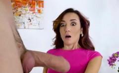 Petite Kiley Jay seduces a hunk stranger to fuck her wet pus