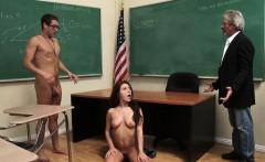 WANKZ- Class Slut Jojo Kiss Seduces Nerdy Xander