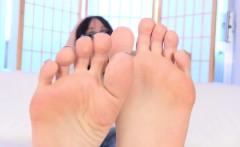 Pedicured Spex Tranny Flexing Her Toes