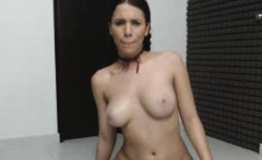 Shaved Brunette Loves Masturbation Show