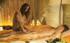 exotic massage with sexy blonde