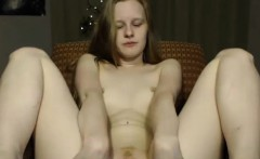 Warm Blonde Camwhore Masturbating To You