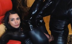 Couple in Latex Mouth and Ass Fuck