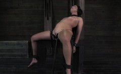 bdsm sub whipped after analhooked by maledom