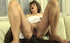 hairy old pussy and ass fuck with big cock black man