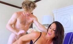 Big Tit milf tries a new dick