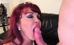 Redhead gets her pussy pounded