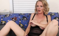 Naughty Blonde Milf Loves To Masturbate