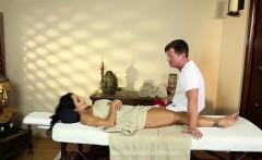 busty massage beauty titfucked by her masseur