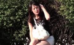 japanese ho pees outside