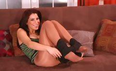 Pantyhose tease from Alexa Nicole