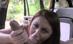 Sexy slutty babe Paris hammered hard by fake cab driver