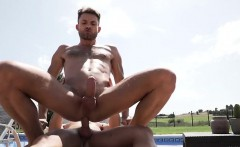 Tattoo Bottom Anal Sex With Creampie