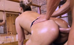 Sexy Ballerina Nikky Dream Bends Over For Anal Sex