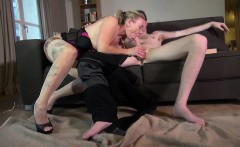 This horny mommy is a dirty one! This filthy milf with her