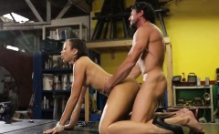 Lovely chick banged with fat dick