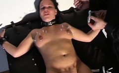Bizarre humiliation for a bitch who gets spanked and slaped
