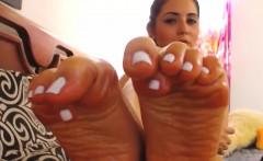 Oiled Feet - UltraPornCams com