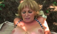 experienced granny likes fresh meat slamming her juicy hole