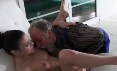 Teen Anita Bellini Lets Old Man Eat Her Pussy