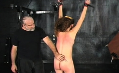 Amateur chick pussy shagged in bondage scenes