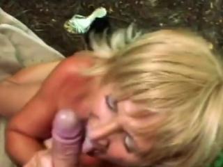 Young guy enjoys banging hot granny
