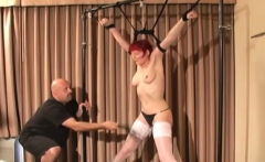 Depraved Bondage Time With Nipple And Wet Crack Play