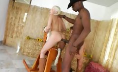Brutal anus threesome with cowboy