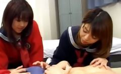 korean FFM threesome in hotel room