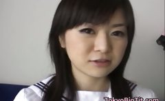 Chisa Hoshijima Asian teen model gets