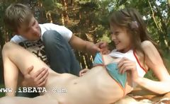 Beatas forest dream and anal undress