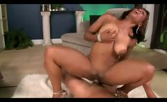 Horny big tits ebony in action