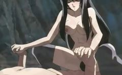 Sexy anime babes make their sacrifices