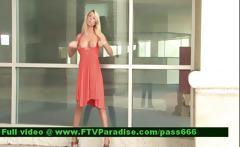 Inventive Shy Blonde Public Flashing