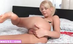Cherry Pink fingering pussy