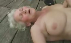 Mature granny get fucked by young man
