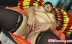 Naughty BBW in hardcore session