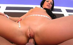 wow. what a movie brunette ginger takes it up her perfect
