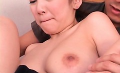 Asian threesome with hot doll cunt fingered and licked