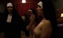 Holy nun gets ass rimjob